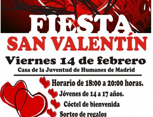 La Casa de la Juventud te invita a celebrar la fiesta de «San Valentín» con música en directo para jóvenes entre 14 y 17 años.