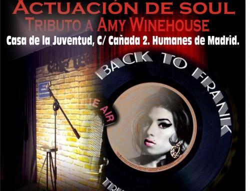 La Casa de la Juventud de Humanes de Madrid organiza un concierto gratuito, tributo a Amy Winehouse.