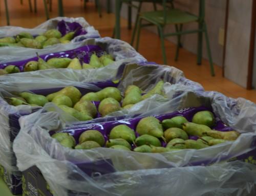El colegio público Santo Domingo de Guzmán comienza el trimestre con desayunos saludables financiados por la Unión Europea