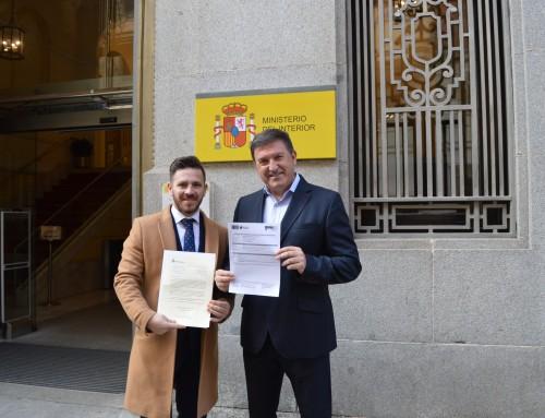 El alcalde de Humanes de Madrid  solicita de nuevo al ministro de Interior, la creación de un Puesto principal de la Guardia Civil en el municipio.