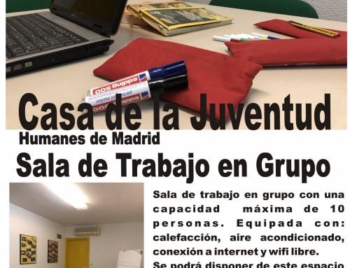 Juventud inaugura una sala de trabajo grupal para los jóvenes.
