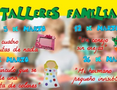 Cuentacuentos y talleres para familias con niños menores de 6 años