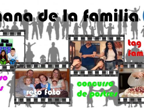 La Concejalía de Infancia te anima a participar en actividades y retos divertidos para celebrar el día mundial de la Familia.