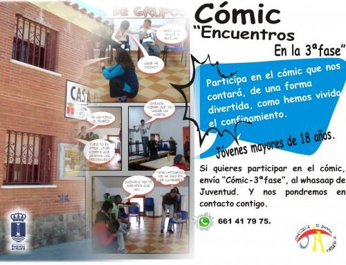 La Concejalía de Juventud creará un cómic cuya historia será protagonizada por los jóvenes de Humanes de Madrid.