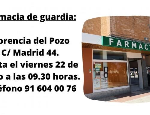 Las farmacias permanecen abiertas de lunes a sábado de 9.30 a 21.30 horas excepto la de guardia.