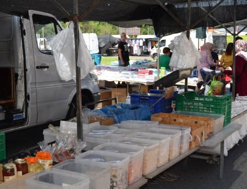 El mercadillo de los jueves reabrirá el próximo 4 de junio sólo para venta de productos de alimentación.
