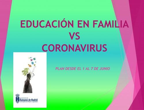 Igualdad y Mujer continúa con el plan de educación en familia.
