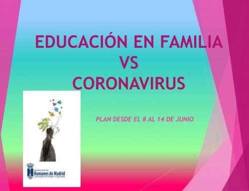 La Concejalía de Igualdad y Mujer continúan con el plan de educación para toda la familia.
