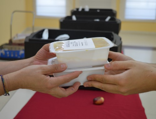 Reparto de menús infantiles en periodo no lectivo, para los niños que más lo necesitan.