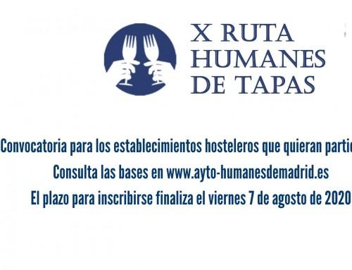 Durante dos fines de semana se celebrará la tradicional X edición de la Ruta de la Tapa.