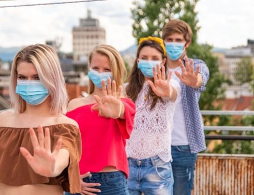 El Ayuntamiento de Humanes de Madrid inicia una campaña para fomentar entre los jóvenes el uso de la mascarilla frente al COVID-19.