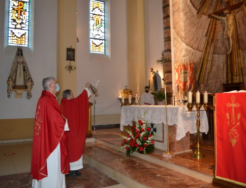 Misa solemne en honor al Santísimo Cristo de la Agonía