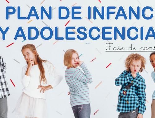 Comienza la consulta a la ciudadanía del III Plan de Infancia y Adolescencia.