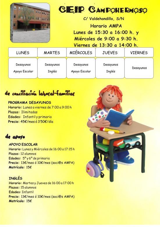Actividades Extraescolares - Infancia