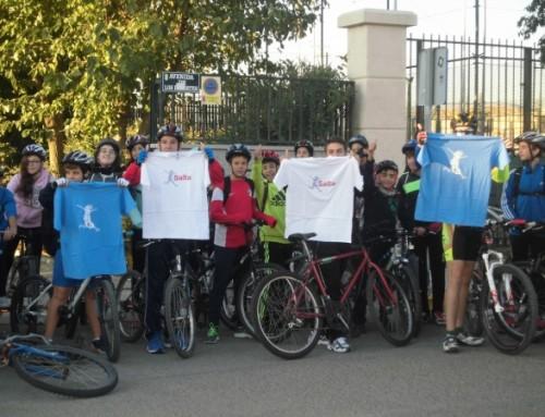 """Los alumnos de 2º de la ESO del IES """"Humanes"""" realizan una ruta cicloturista dentro del proyecto """"Salta Humanes de Madrid"""""""