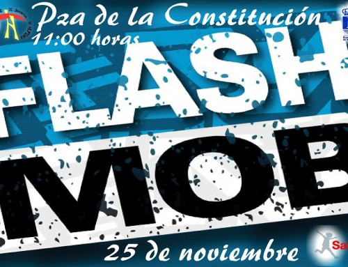 """El 25 de noviembre, """"flashmob"""" con motivo de la culminación del Proyecto """"OPEN Europe – SALTA Humanes"""""""