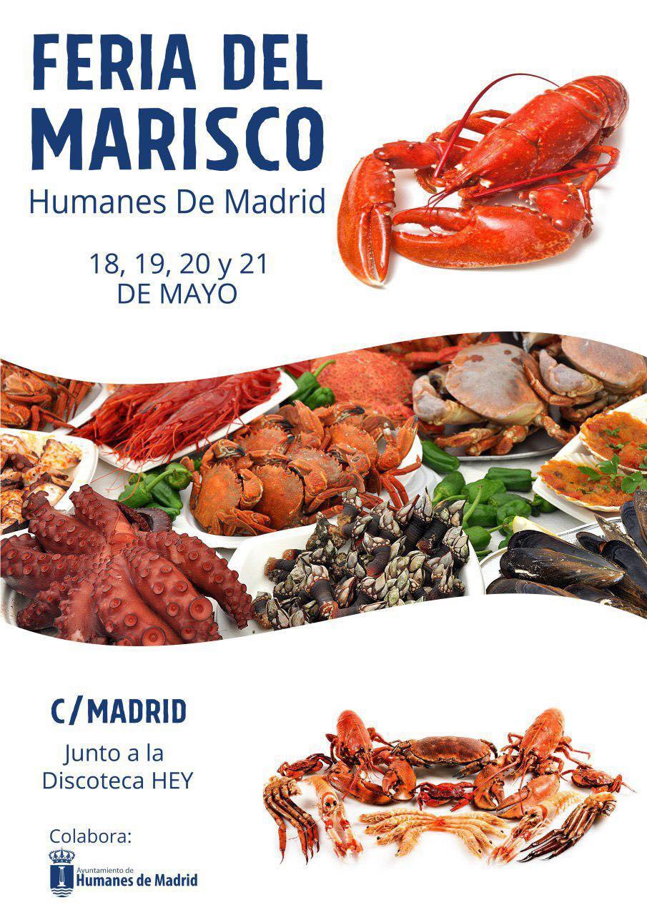 Feria del marisco ayuntamiento humanes de madrid for Feria del mueble de yecla