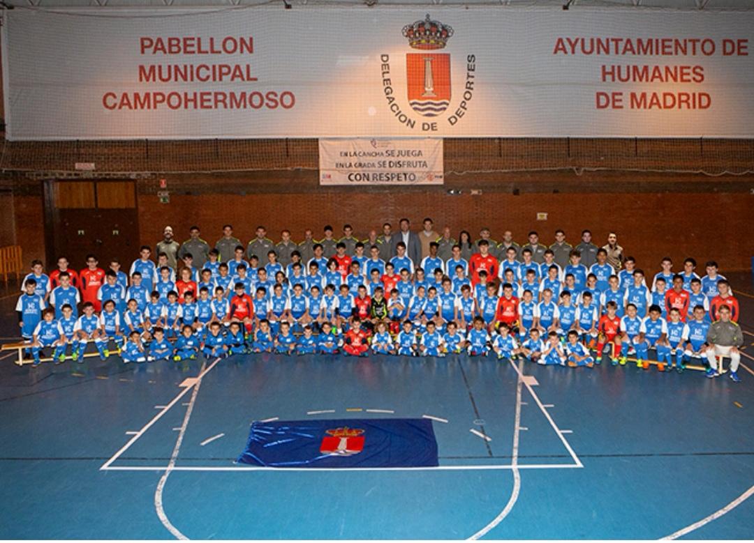La escuela de fútbol sala Humanes busca jugadores nacidos entre 2008 – 2010 para los equipos de benjamín y alevín.