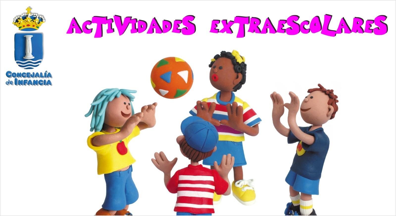 La Concejalía de infancia abre el plazo de inscripción con un amplio programa de actividades extraescolares.