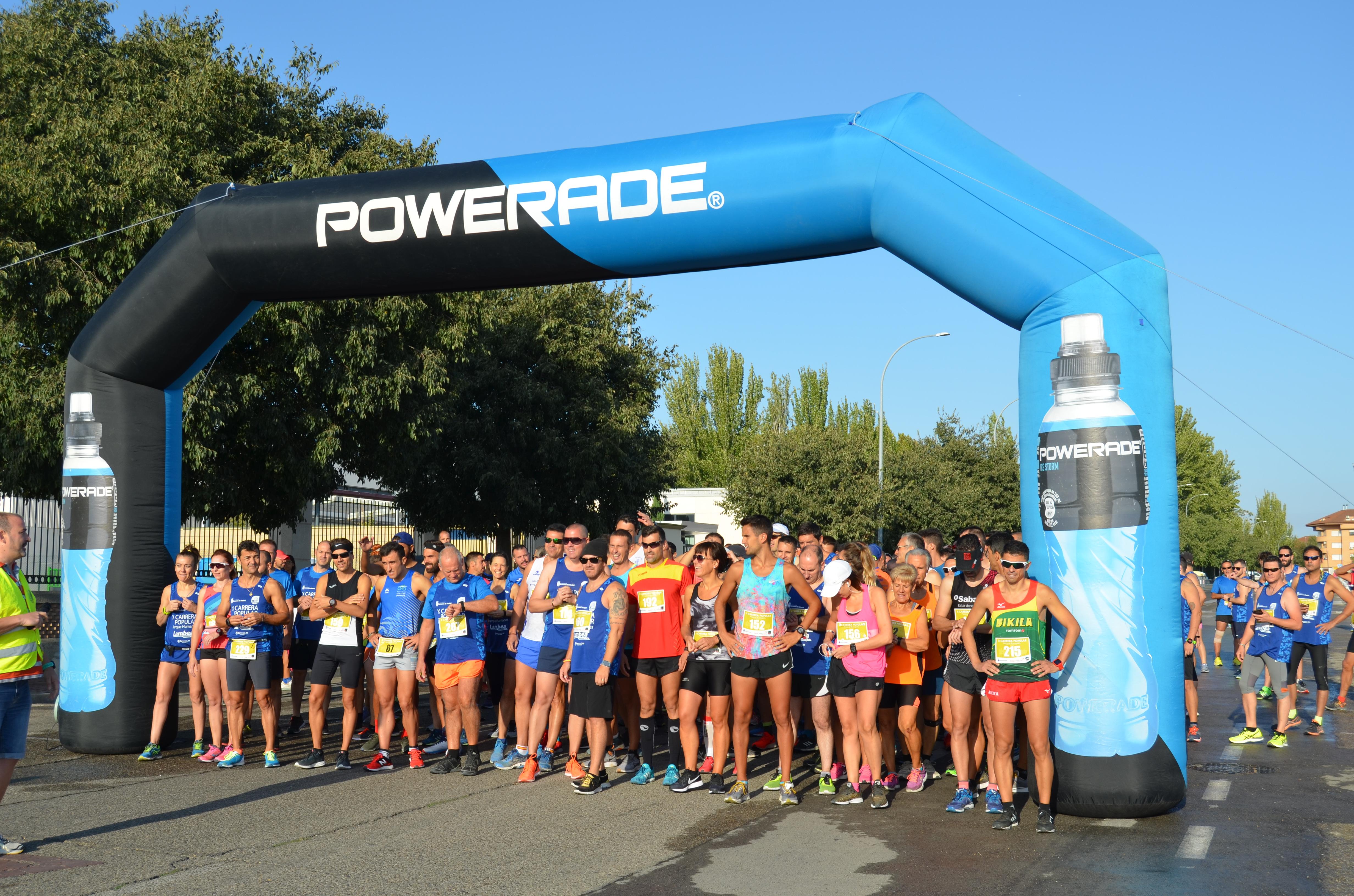650 corredores participan en la X Carrera Popular Parque Humanes e infantil.
