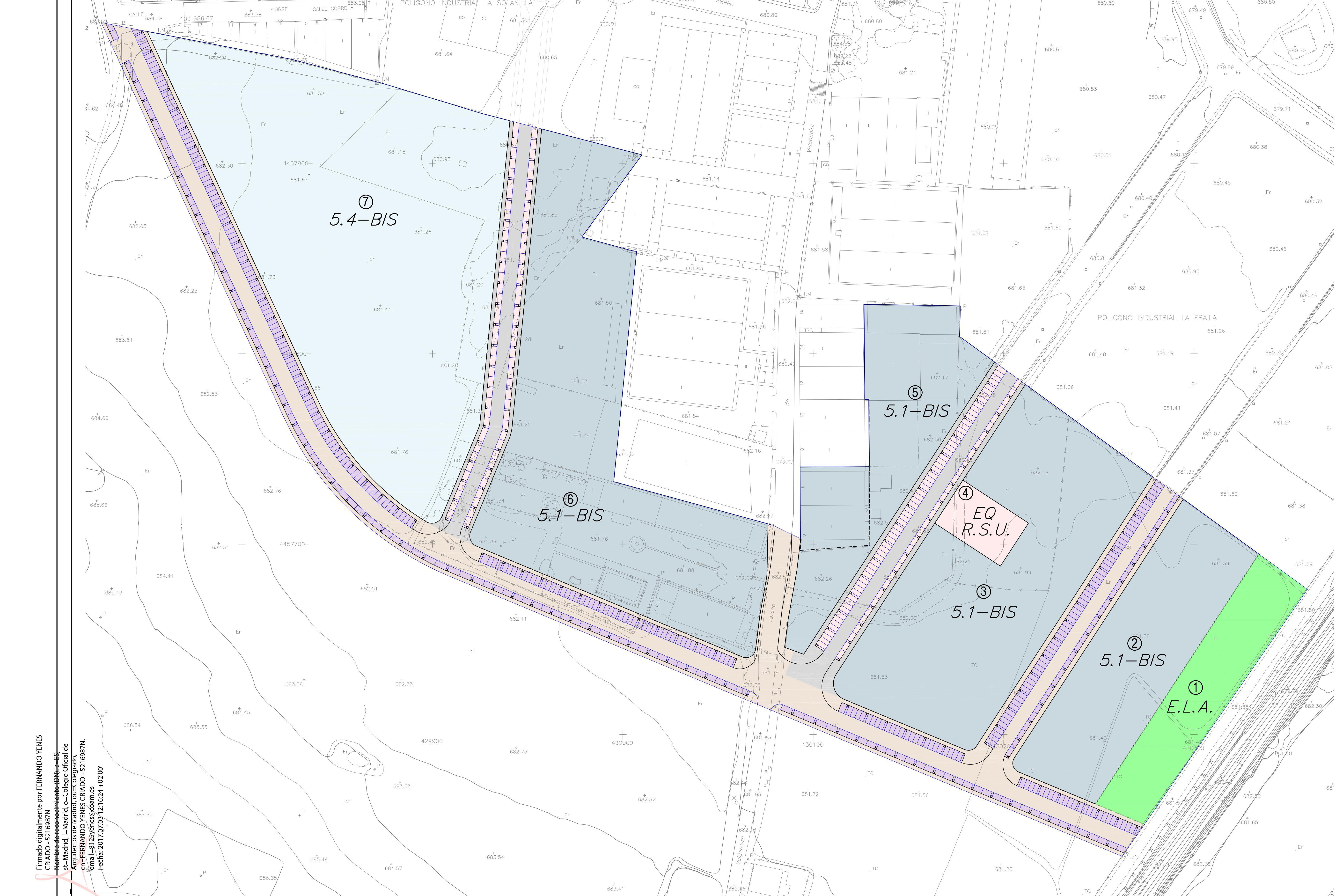 Aprobación definitiva del Plan Parcial para la implantación de empresas en el sector A «La Fraila I» sobre una superficie de 107.000 metros cuadrados.