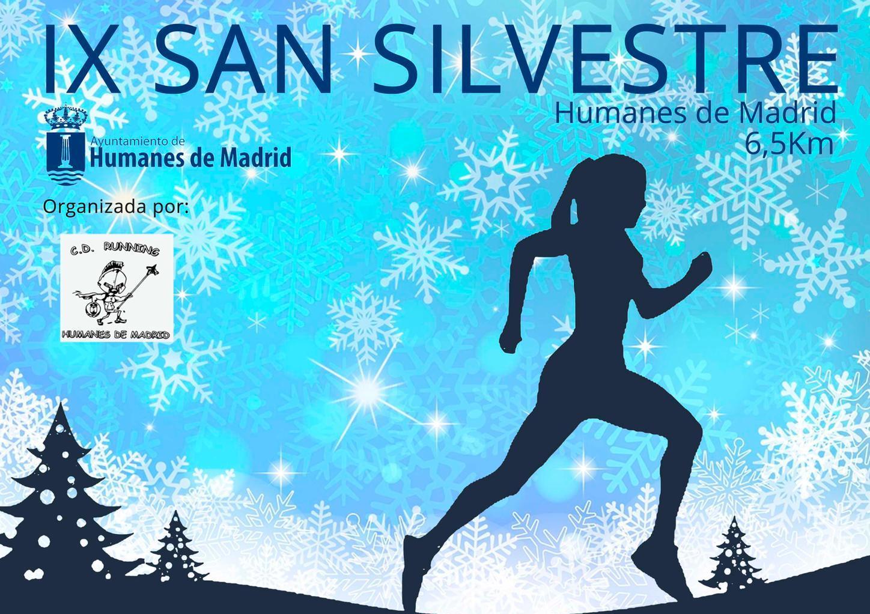 Abierto el plazo para la IX San Silvestre Humanes de Madrid.