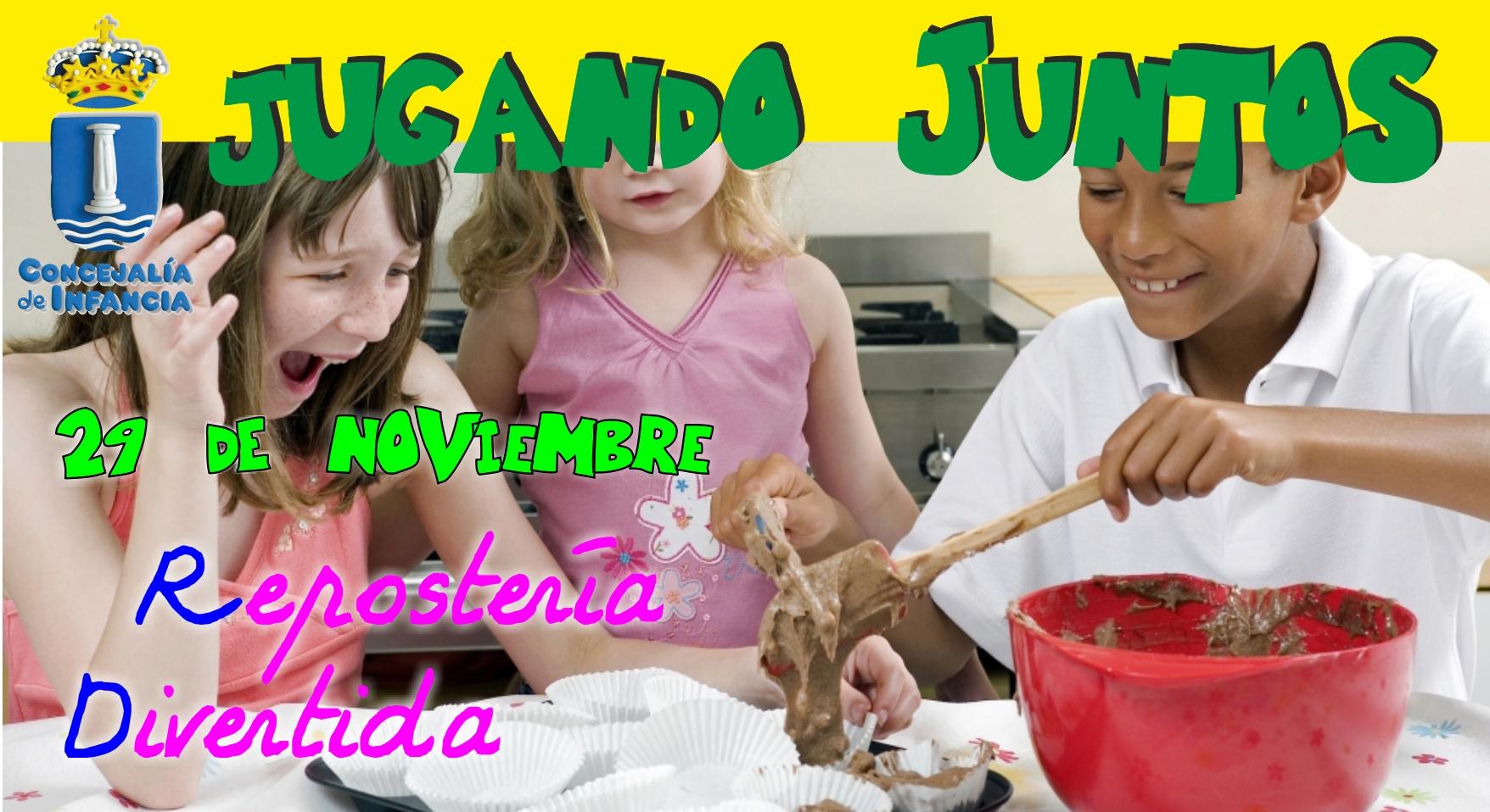 La concejalía de Infancia organiza un taller de «Repostería divertida».