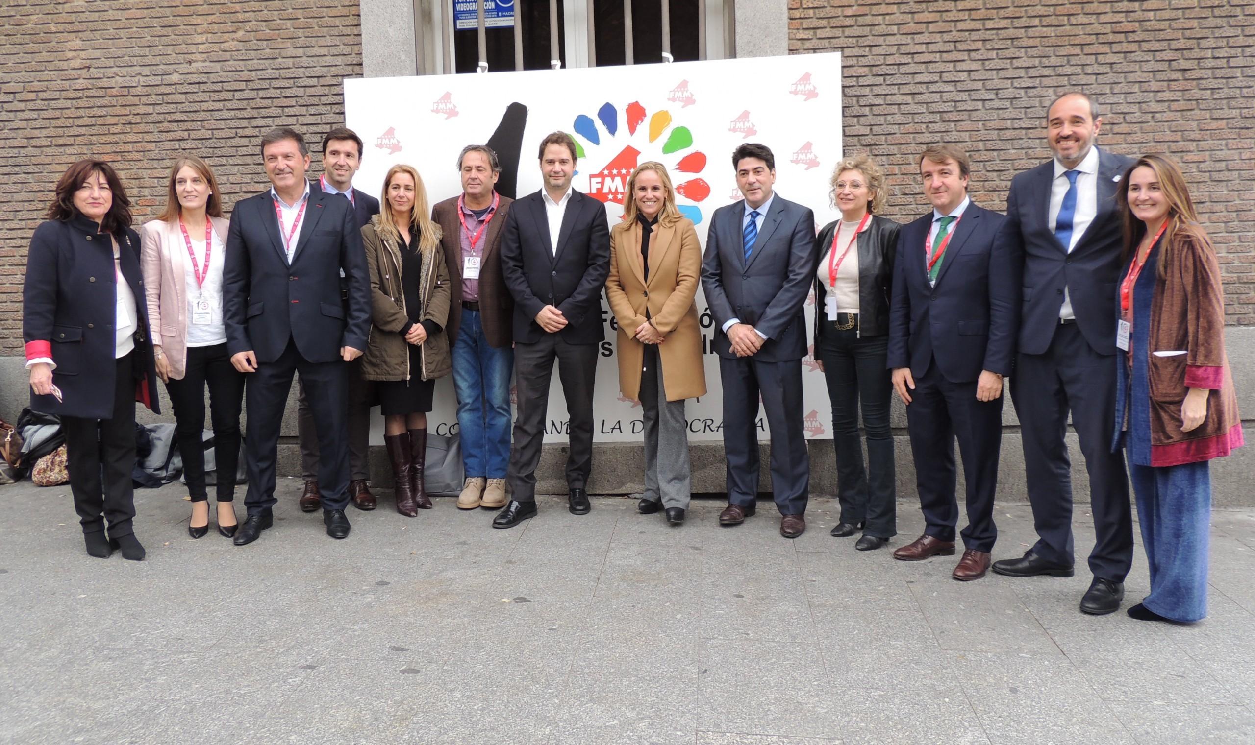 El alcalde de Humanes de Madrid nombrado vocal de la Federación de Municipios de Madrid.