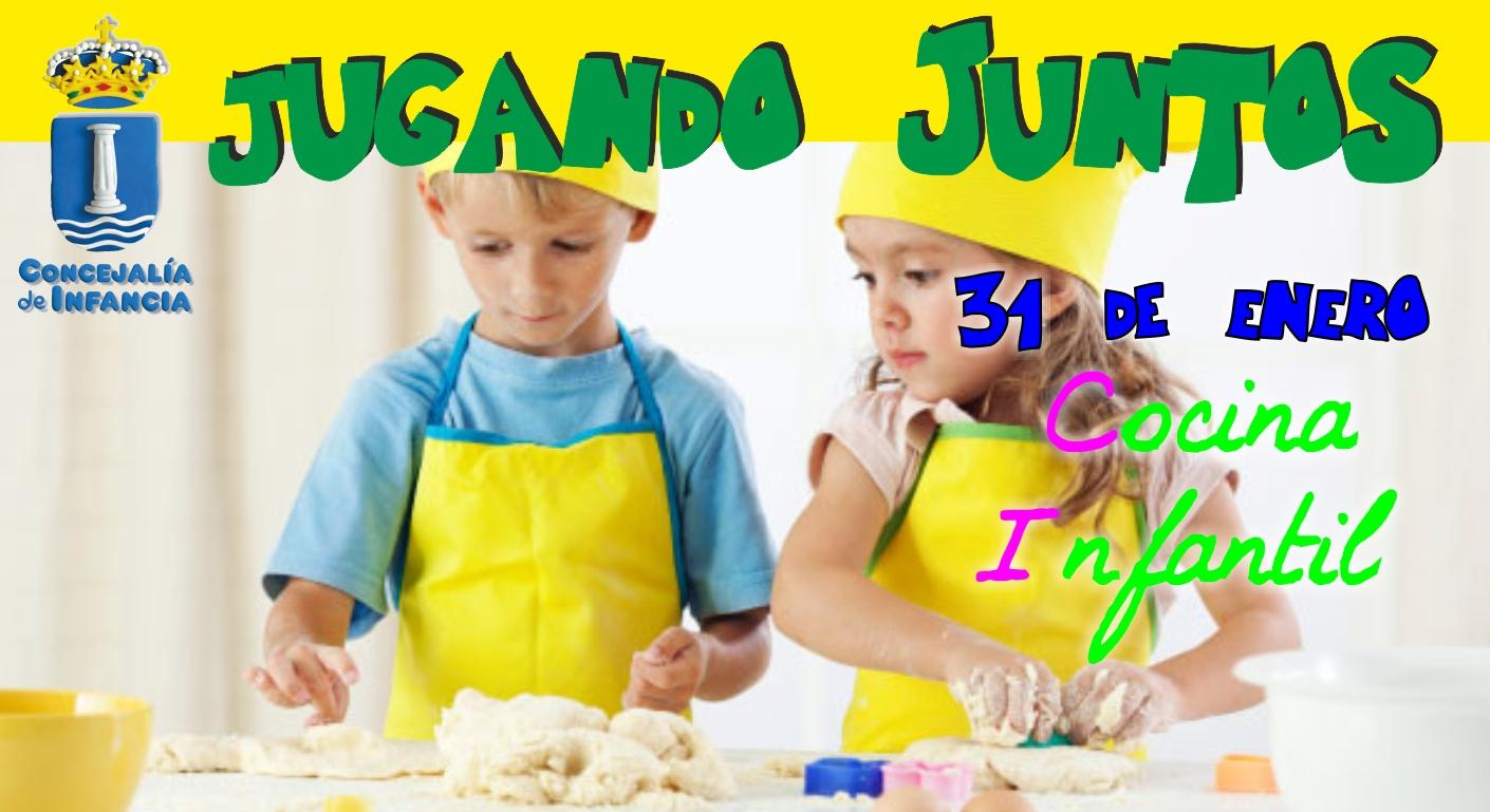 La concejalía de Infancia organiza un taller de Cocina para niños de 3 a 6 años.