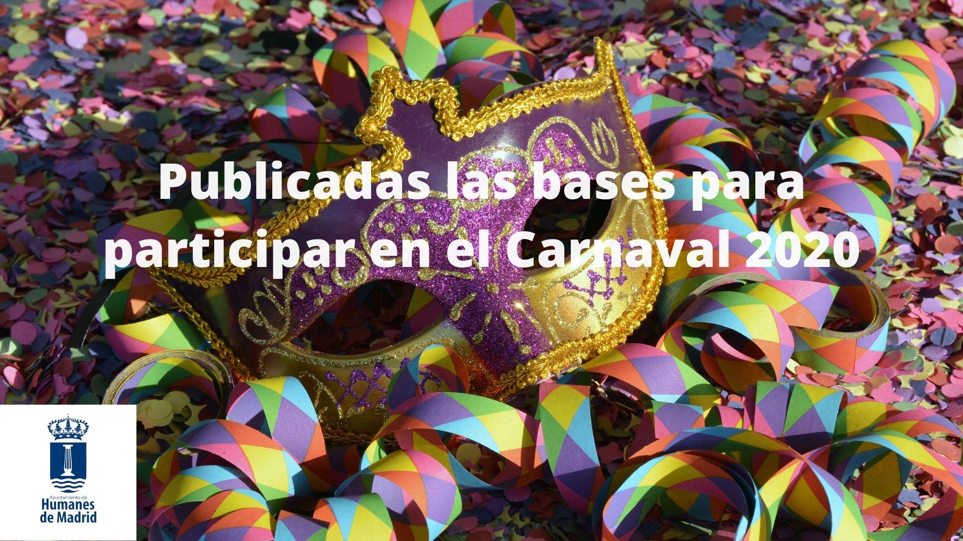 Publicadas las bases para participar y tramitar las subvenciones destinadas a las asociaciones y grupos vecinales en el desfile de Carnaval 2020.