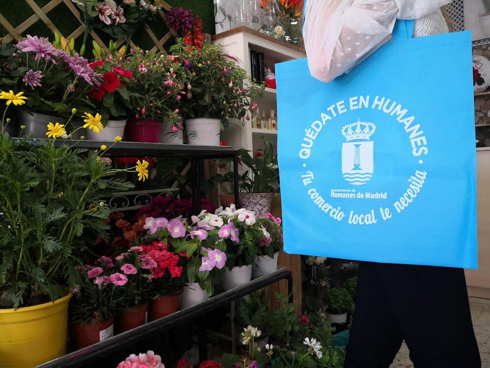El Gobierno municipal pone en marcha la campaña: «Quédate en Humanes: Tu comercio local te necesita».