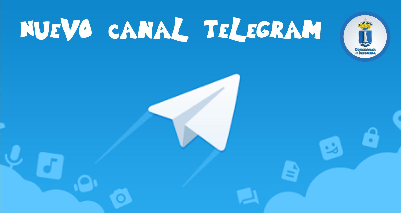 La Concejalía de Infancia abre un canal informativo con Telegram.