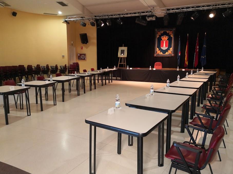 El viernes 3 de julio a las 09.15 horas, celebración del pleno ordinario en el salón de actos del centro sociocultural Federico García Lorca.