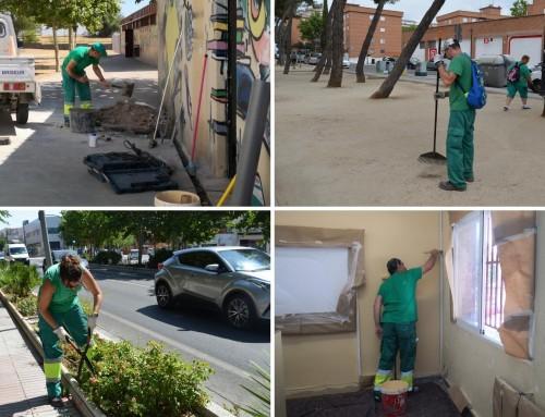 40 desempleados de larga duración del programa de fomento de empleo 2020 de la Comunidad de Madrid serán contratados para trabajar en Humanes de Madrid.