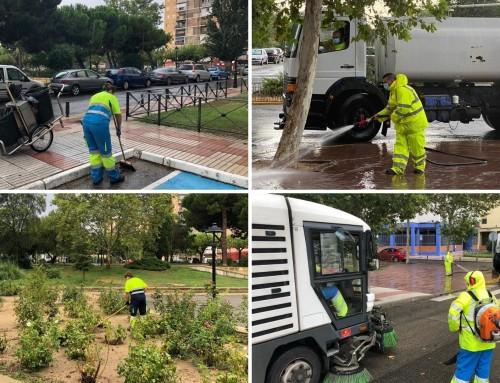 Humanes de Madrid avanza con un plan especial de limpieza centrado en los barrios.