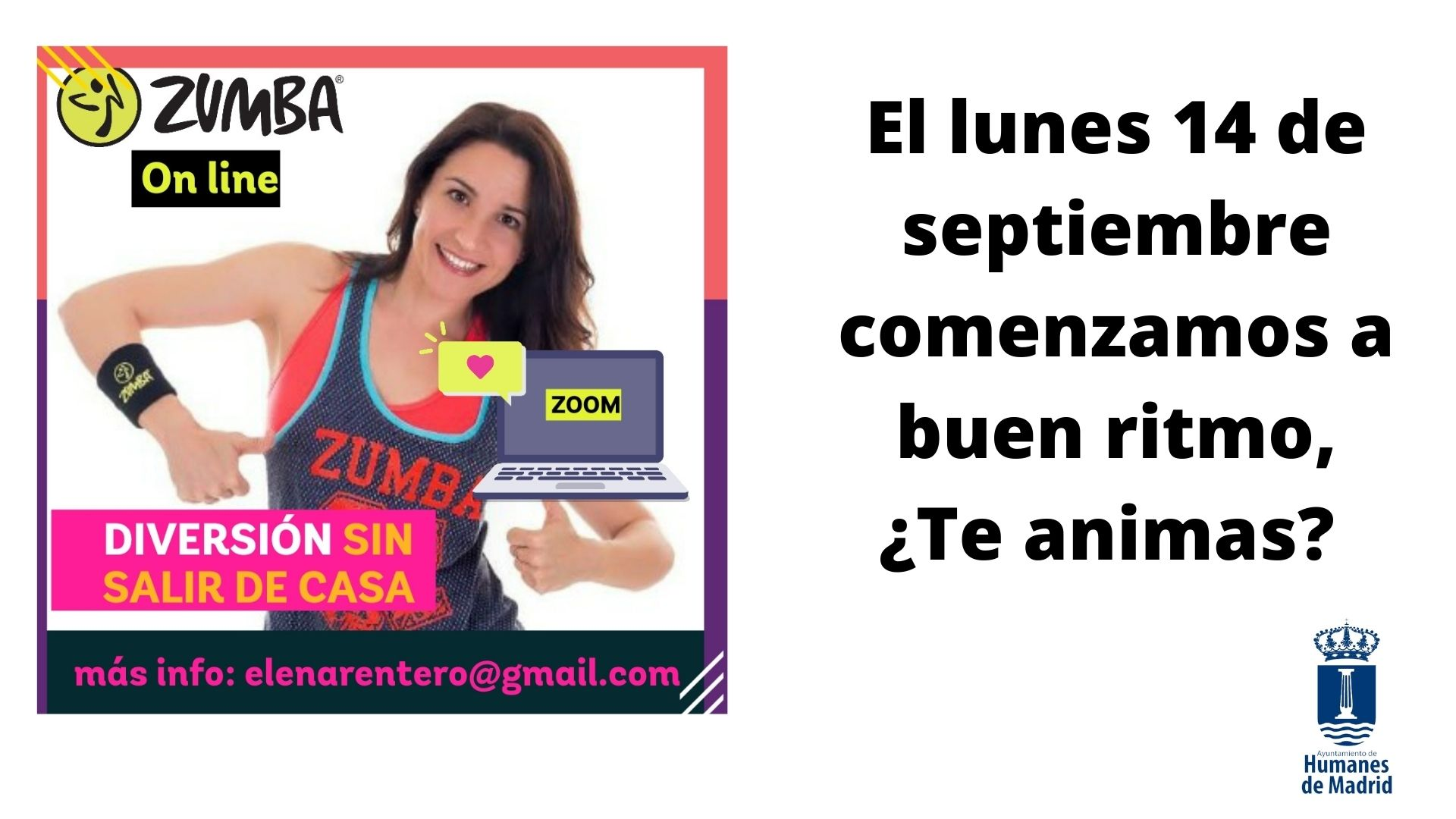 Clases online de Zumba
