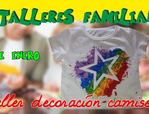 La Concejalía de Infancia organiza un taller familiar gratuito de customización de camisetas