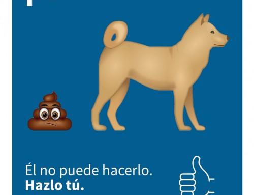 """El Ayuntamiento inicia una campaña de concienciación """"Por un Humanes más limpio""""."""
