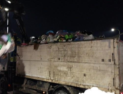 Humanes de Madrid, de los primeros municipios de la zona en iniciar la recogida de residuos sólidos acumulados por el temporal Filomena.