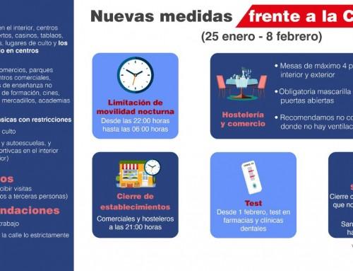 La Comunidad de Madrid amplía el horario de las restricciones de movilidad nocturna desde las 22:00 horas hasta las 06:00 horas