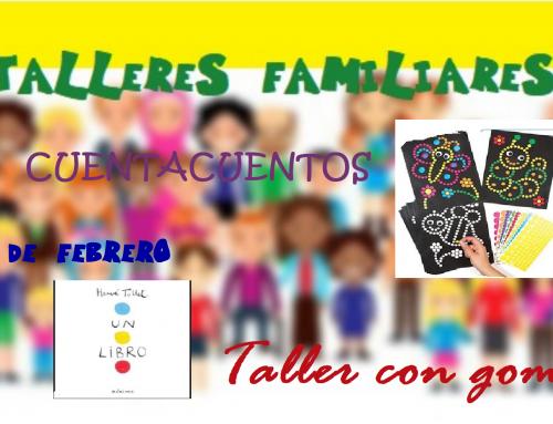 La Concejalía de Infancia organiza un taller creativo con gomets y un cuentacuentos para menores de 6 años.
