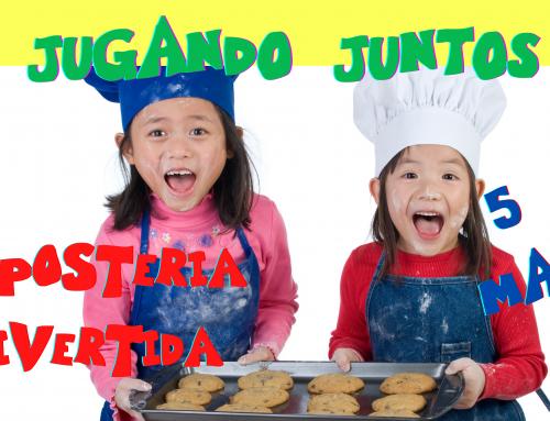 La Concejalía de Infancia organiza un taller de repostería para niños de tercero de infantil.
