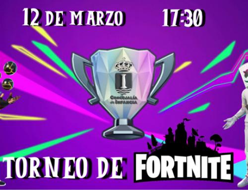 La Concejalía de Infancia organiza el 3º torneo privado de Fortnite.