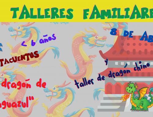 La Concejalía de Infancia organiza actividades sobre dragones, para familias con hijos menores de 6 años.