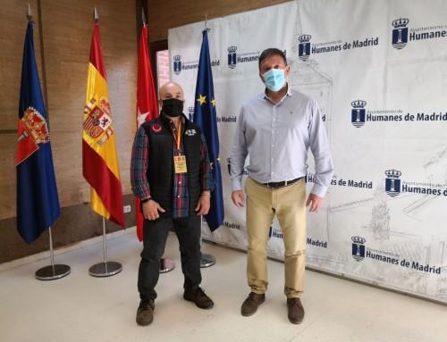 Recepción institucional con Jesús Juan Rubio, campeón de España de estilos de Kata individual veteranos II.
