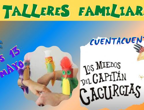 La Concejalía de Infancia organiza actividades y un cuentacuentos «Los miedos del capitán cacurcias» para familias con hijos menores de 6 años.