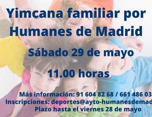 La Concejalía de Deportes organiza una Yimcana familiar gratuita por el municipio.