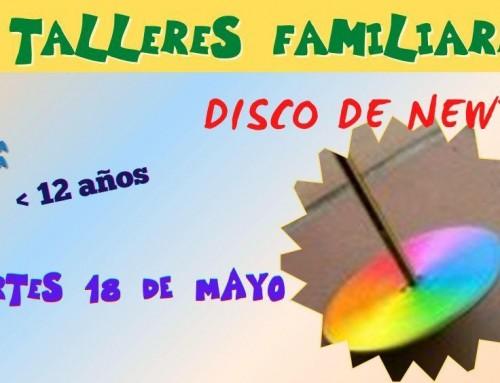 La Concejalía de Infancia organiza un taller familiar presencial para construir un disco de Newton para familias con hijos menores de 12 años.