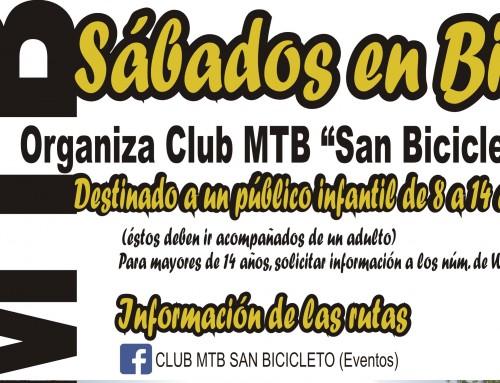 El Club MTB San Bicicleto organiza una ruta de 26 kilómetros hasta Móstoles