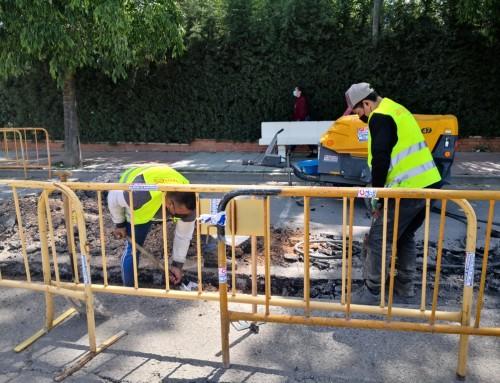 Comienzan las obras de mejora de accesibilidad de las paradas de autobús interurbanas subvencionadas por la Comunidad de Madrid.